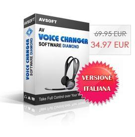 AV Voice Changer Software Diamond (Italiano)